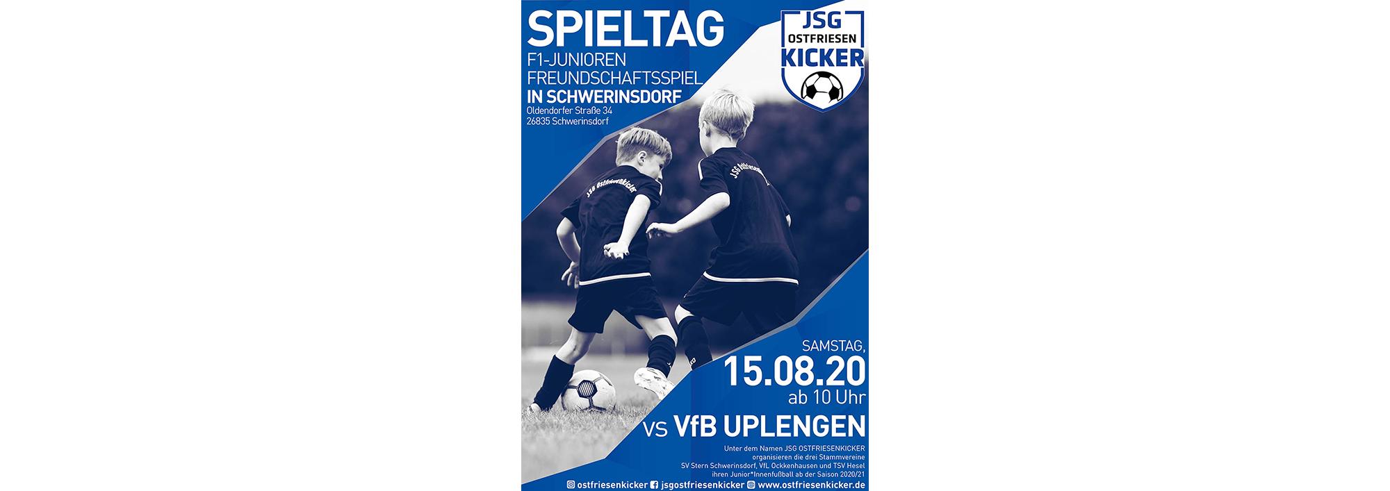 Read more about the article Freundschaftsspiel der F1-Jugend am 15.08 ab 10 Uhr